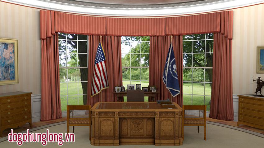 Phòng làm việc của thổng thống Mỹ Donald Trump