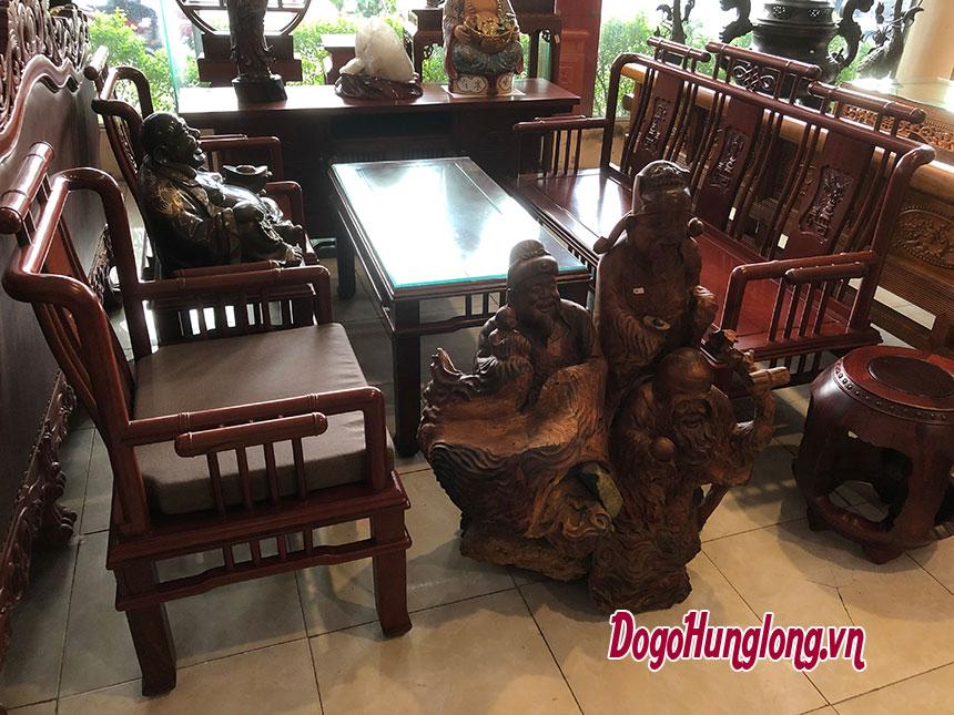 Mẫu bàn ghế phòng khách cỡ vừa nhỏ
