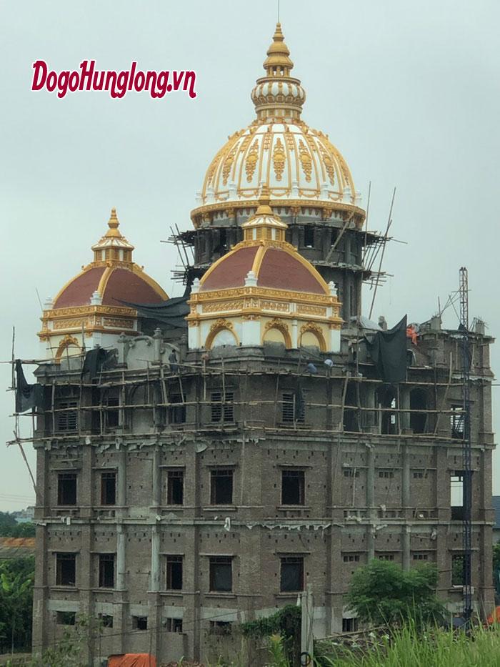 Thiết kế thi công nội thất biệt thự, lâu đài tại Hà Nội