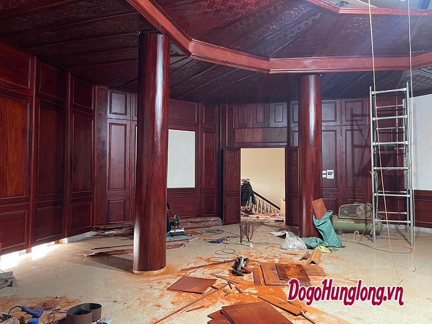 Thiết kế thi công phòng thờ mới nhất 2021