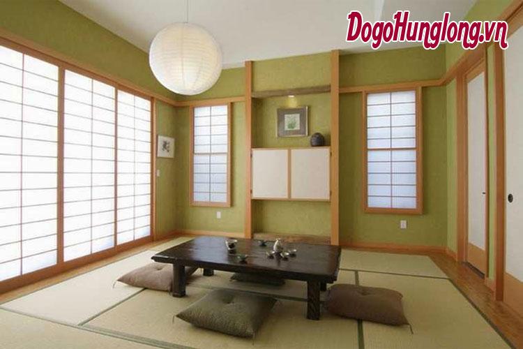 thư giãn với thiết kế phòng trà tại nhà