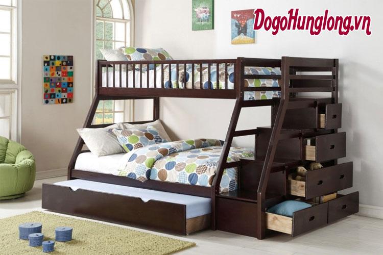 Thiết kế giường tầng siêu đẹp cho 2 bé nhà bạn