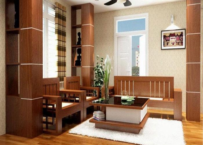 3 chất liệu làm nên nội thất phòng khách độc đáo và sang trọng