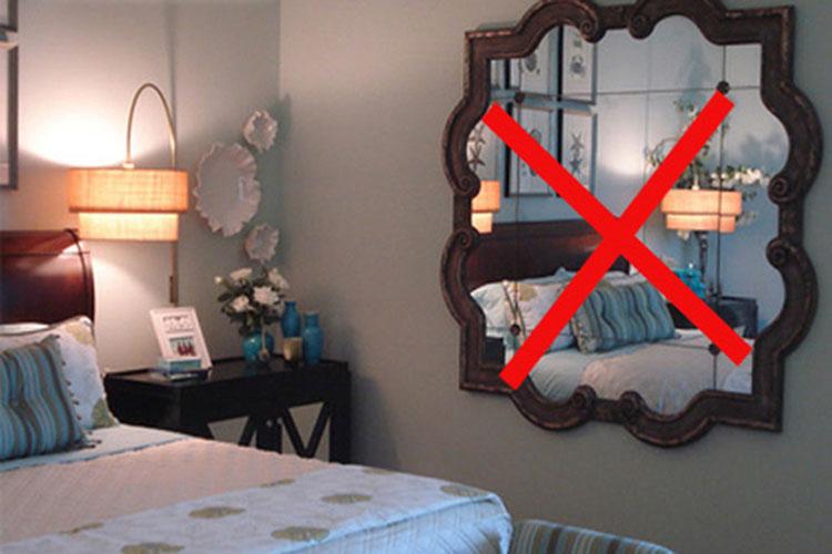 Những tối kỵ phong thủy nên tránh khi bố trí phòng ngủ