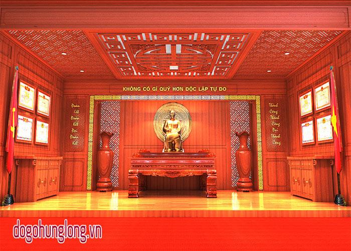Thiết kế phòng truyền thống