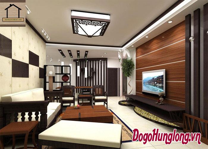 Chọn sàn gỗ hay sàn gạch khi thiết kế thi công nội thất chung cư