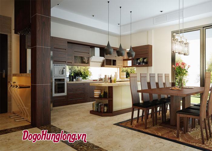 dịch vụ thiết kế - thi công - hoàn thiện nội thất từ Đồ gỗ Hưng Long