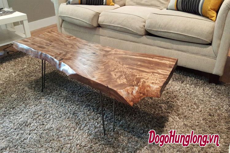 tự nhiên và thô mộc với nội thất gỗ