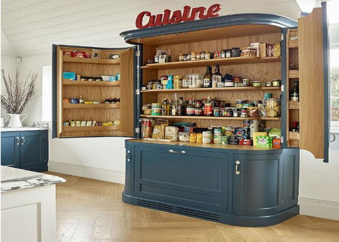 Tủ lưu trữ phòng bếp