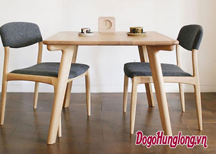 Mẫu bàn ăn 2 ghế hot nhất hiện nay