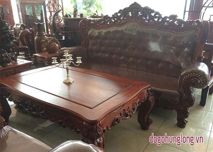 Mẫu bàn ghế tân cổ điển