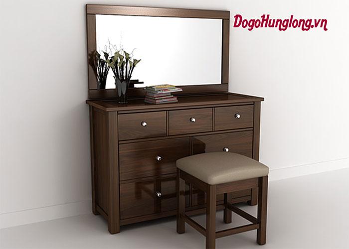 Lý do lựa chọn bàn trang điểm gỗ tự nhiên cho không gian phòng ngủ