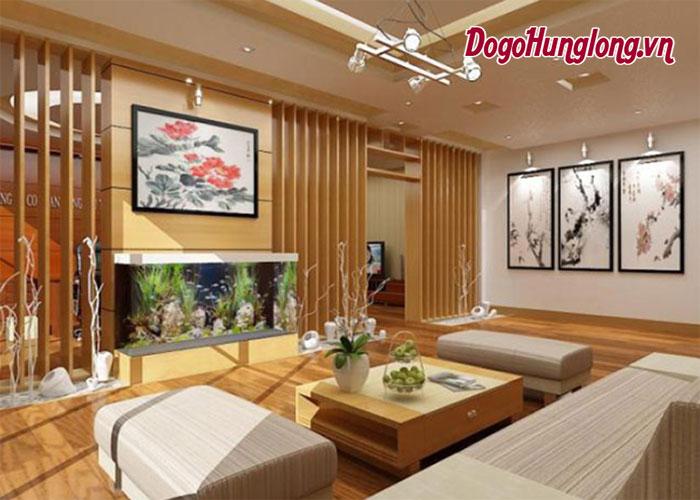 Khám phá những thiết kế nội thất phòng khách bằng gỗ mới nhất hiện nay