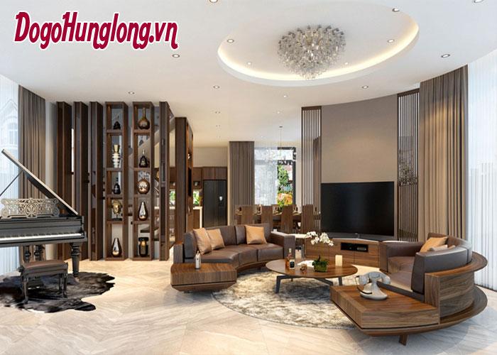 Bố trí sofa để tăng hấp dẫn cho phòng khách