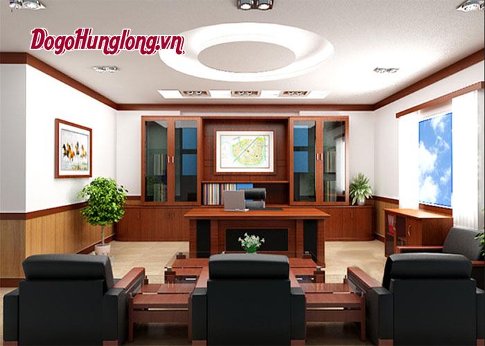 Lựa chọn bàn ghế trong thiết kế nội thất phòng giám đốc như nào là chuẩn nhất ?