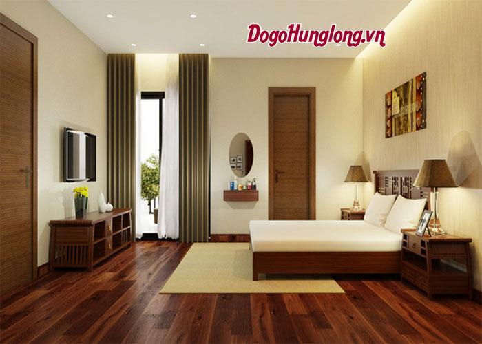 Lạ mắt với mẫu thiết kế nội thất phòng ngủ gỗ tự nhiên