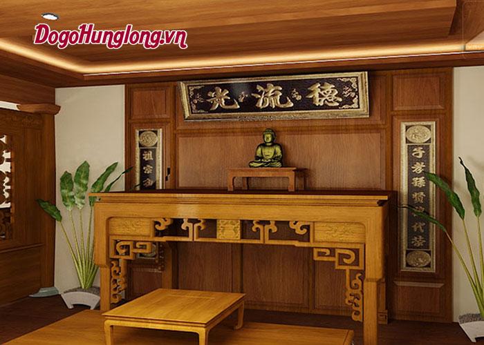 Kinh nghiệm chọn mẫu bàn thờ đẹp cho căn nhà của bạn