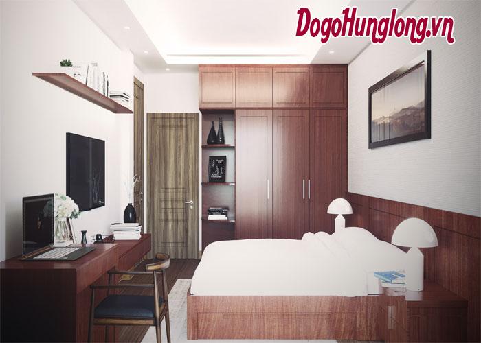 Thiết kế phòng ngủ sang trọng như khách sạn