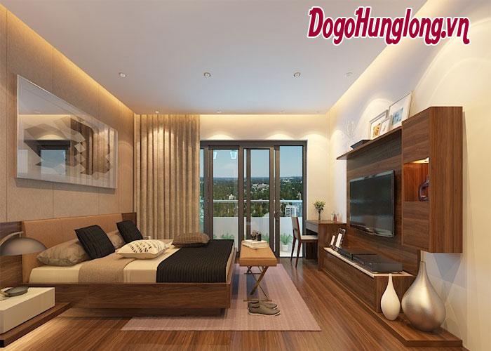 Trang trí nội thất phòng ngủ theo phong cách hiện đại