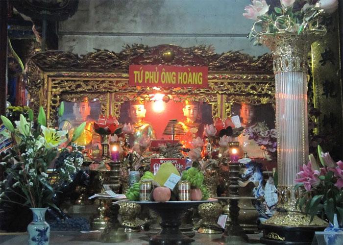 Văn hóa thờ cúng tại đình đền miếu phủ