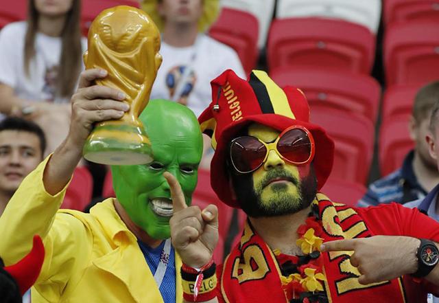 Những hình ảnh ấn tượng tứ kết World Cup 2018