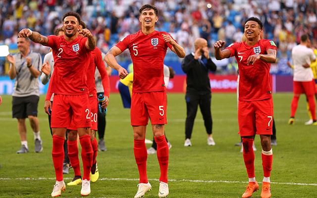 Hình ảnh ấn tượng tứ kết World Cup 2018