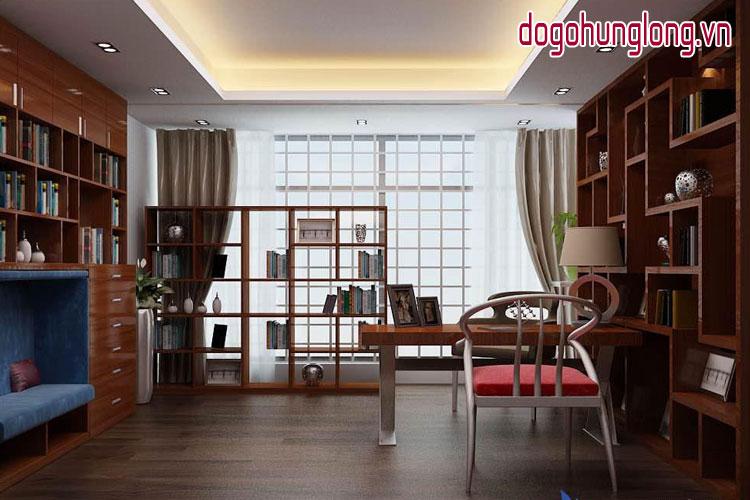 Nội thất gỗ cho không gian đọc sách hoàn hảo