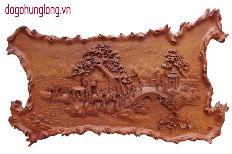 Mẫu tranh gỗ phong thủy được ưa chuộng nhất hiện nay