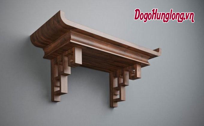 Mẫu bàn thờ treo tường mới nhất