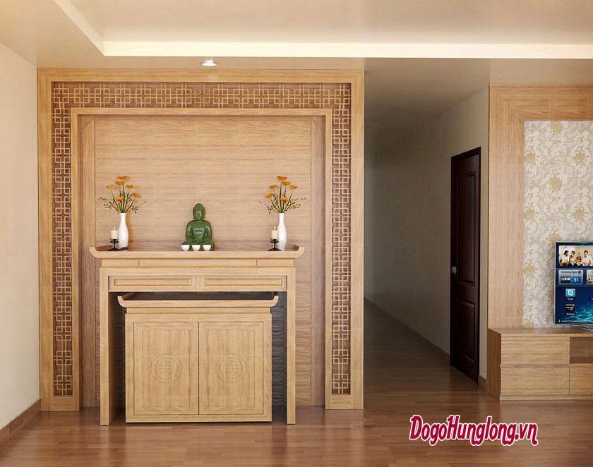 Mẫu không gian thờ cho căn hộ chung cư