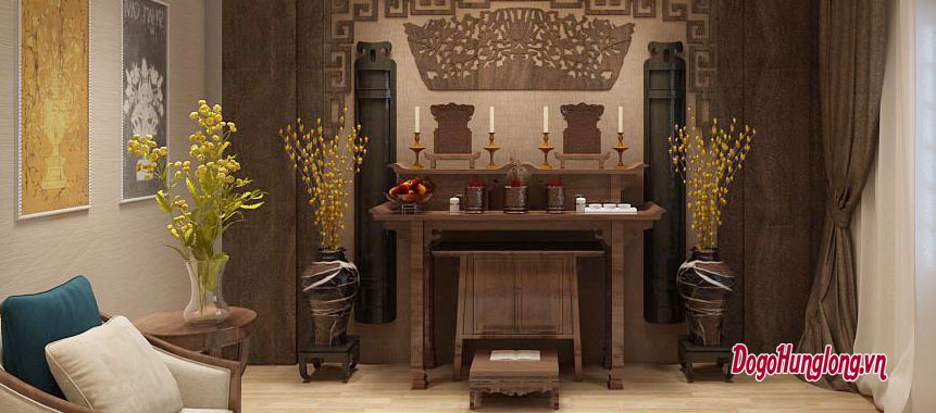 Không gian thờ cho căn hộ chung cư