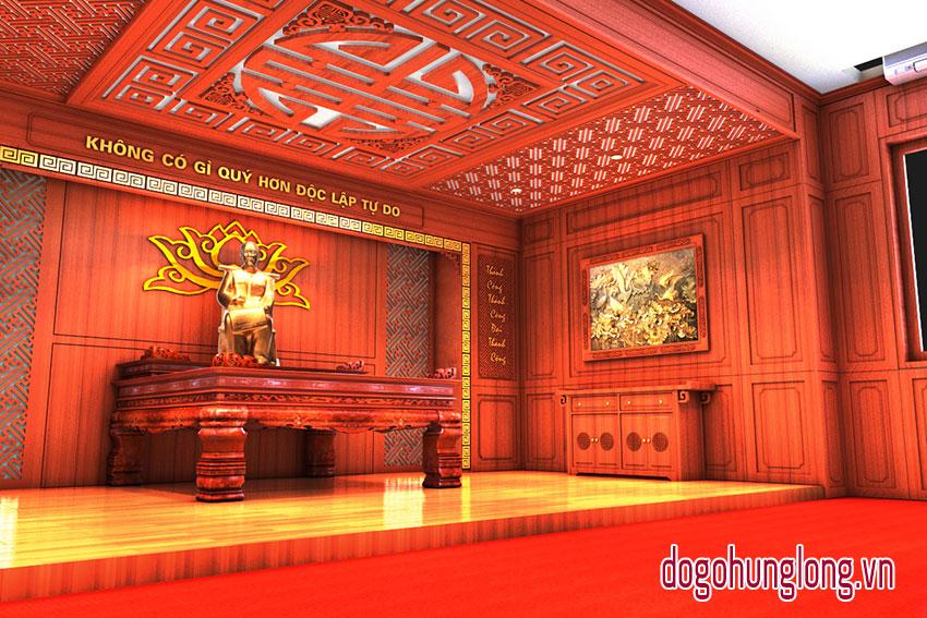 Thiết kế bàn thờ