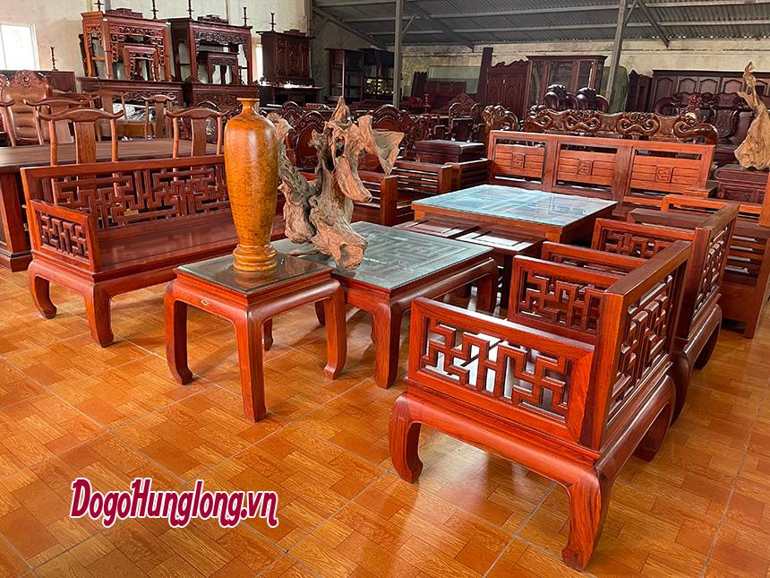 Tổng hợp một số mẫu bộ bàn ghế cho phòng khách có diện tích trung bình