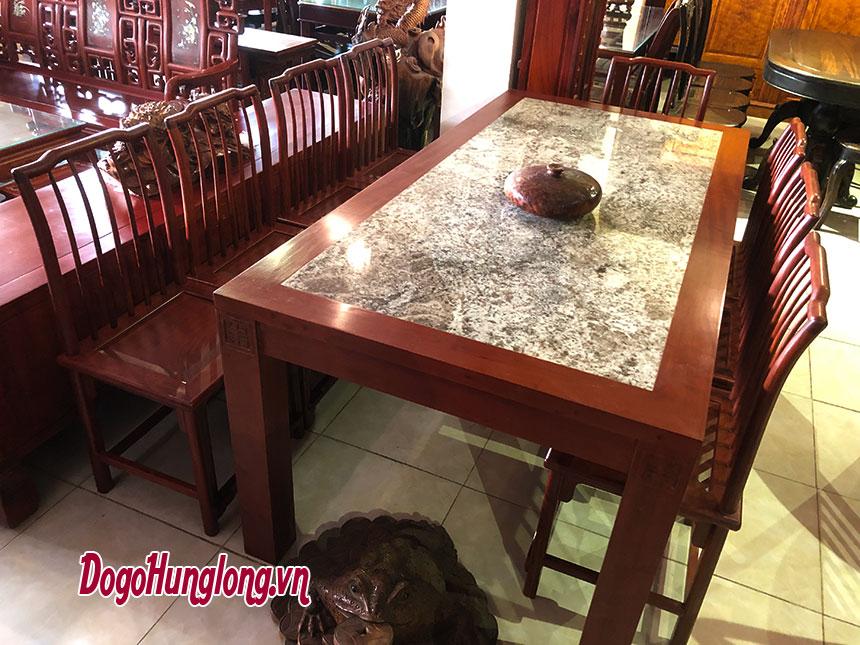 Bộ bàn ăn mặt đá
