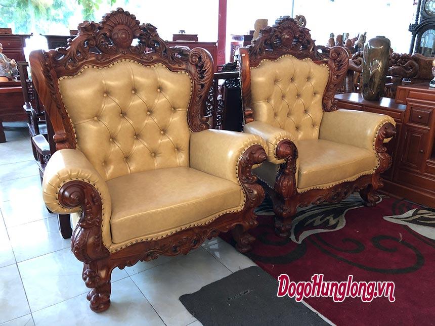 Bộ bàn ghế tân cổ điển mẫu mới nhất