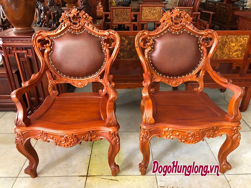 Mẫu ghế Louis XIV