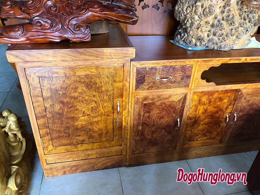 Kệ tivi gỗ cẩm