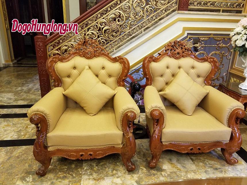 Mẫu ghế sofa bọc da mới