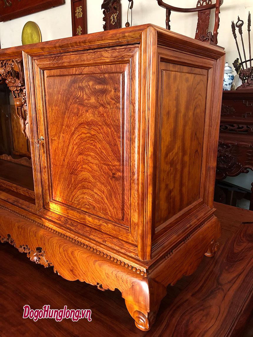 Tủ chè gỗ cẩm