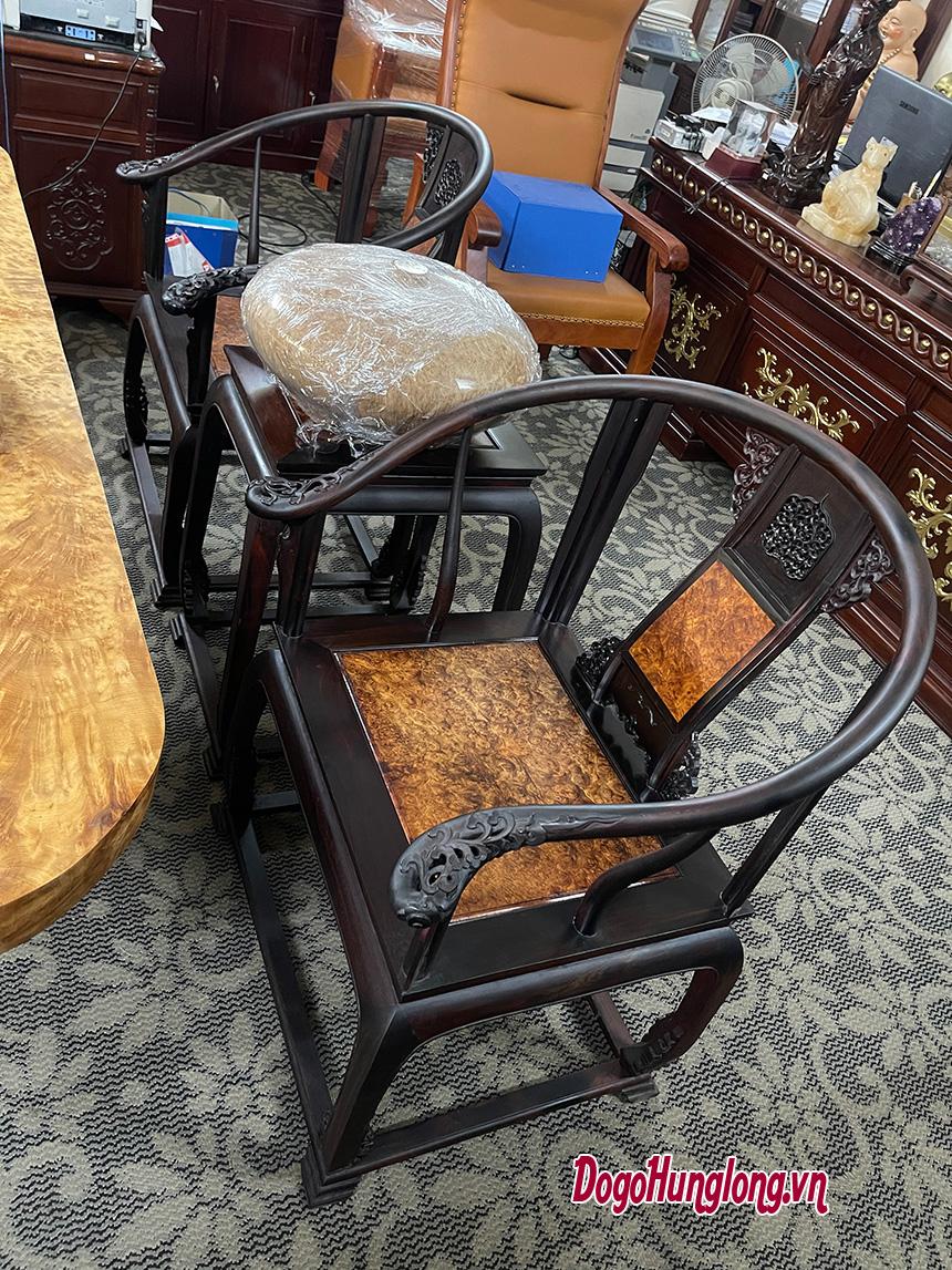Bộ bàn trà phòng khách nguyên tấm
