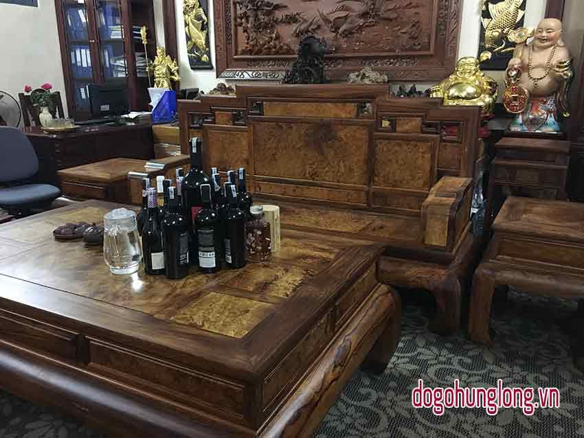 Bộ bàn ghế sưa, nu hương