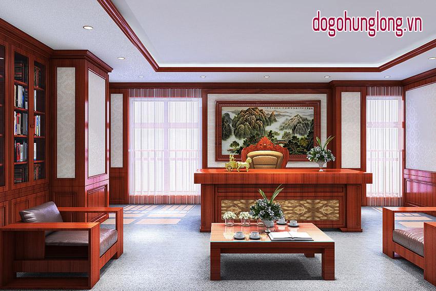 Thiết kế phòng khách, phòng làm việc
