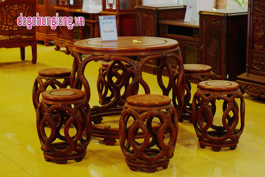 Bộ bàn ghế phòng khách Tang Trống