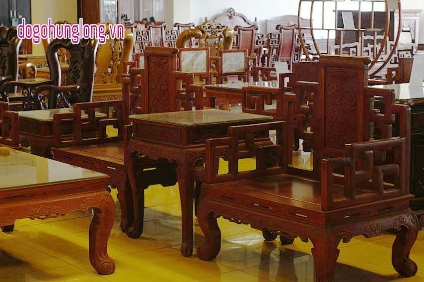 Bộ bàn ghế Triện Khánh