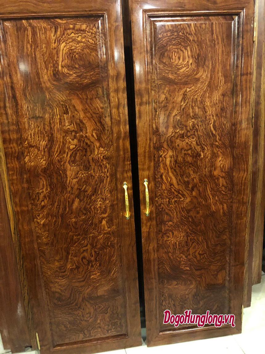 Tủ quần áo, gỗ cẩm, 4 buồng