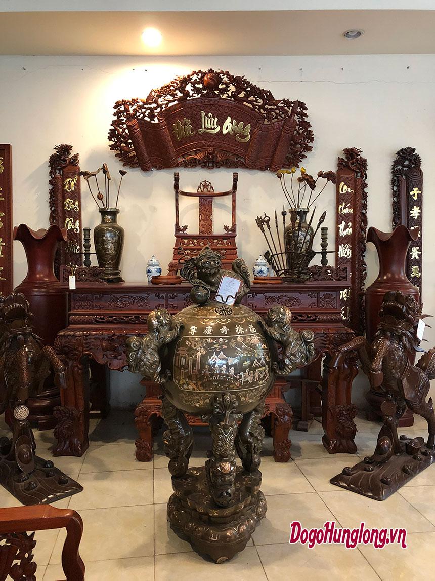 Bộ sưu tập các mẫu không gian thờ, bàn thờ đẹp nhất 2019