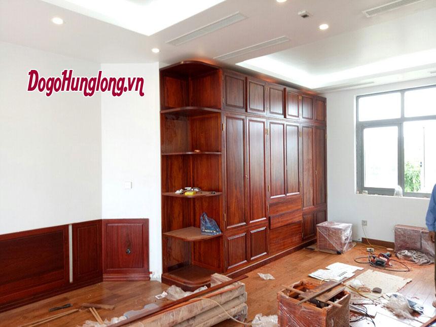 Thi công nội thất công trình Vinhomes Long Biên