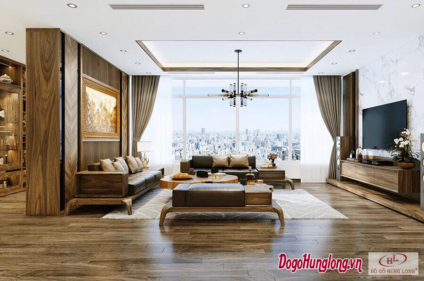 Thiết kế tổng thể nội thất chung cư cao cấp