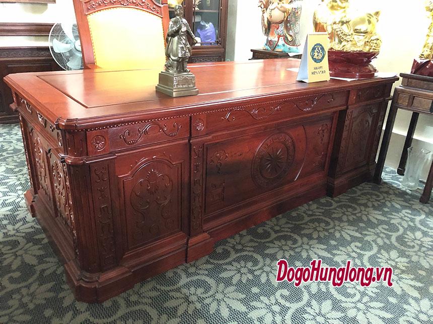 Bộ bàn làm việc phong cách cổ điển cách tân