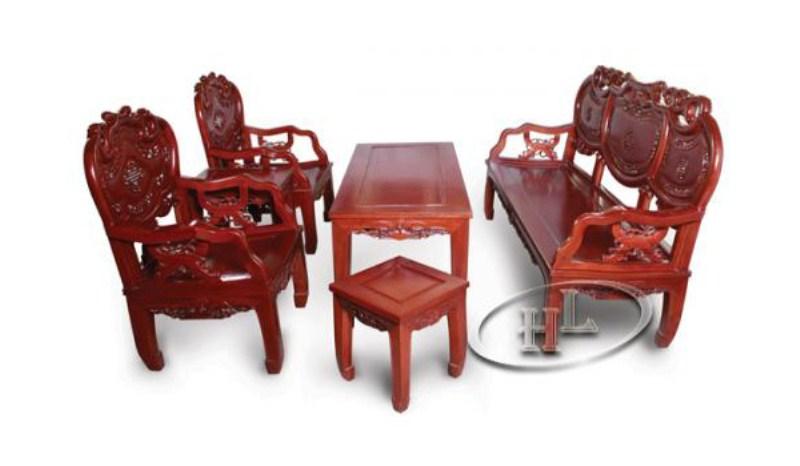 Bàn ghế khánh lùn
